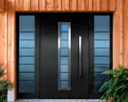 Diseño y Construcción de Puertas de Aluminio